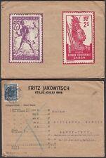 Yugoslavia 1931  - Cover to Ramet-Ivoz-Belgium...........(EB) MV-4199