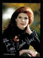 Claudia Wenzel Autogrammkarte Original Signiert # BC 123913