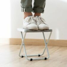 Foldable Stool for Sitting Hard to Reach Cabinets Light Portable Stool Kitchen