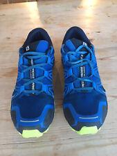 Salomon Speedcross Vario 2 Mens Trail Running Shoes UK 9 Blue