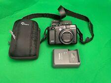 Canon PowerShot G12 10.0MP Digital Camera - Black (Bundle)