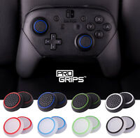 2 x Pro Grips™ Thumb Stick Covers Grips Cap For Nintendo Switch PRO Controller