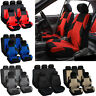 Universal Car Full Seat Covers Front Rear Car Interior Seat Protection Cover Top