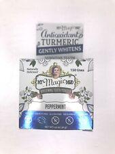 Turmeric Teeth Whitening Powder Peppermint 1.41 Oz NEW