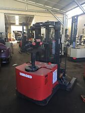 RAYMOND WALKIE REACH STACKER 3.9M LIFT 3 STAGE 8499+GST Negotiable