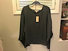 Michael Kors sz XL navy blue pullover top new with tags