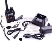 BAOFENG UV-3R+ Plus Dual Display Dual Band VHF/UHF 2-Way Radio+Accessories 2019
