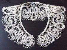 New Bobbin Lace Collar Handmade Lace Russian Vologda Style