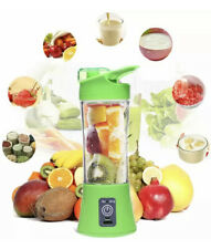 Green Portable And Rechargeable Battery Juice Blender 380ml
