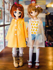 New 1/4 MSD MDD BJD Doll Clothes Cute Yellow/White Lovely Duck Raincoat/Outfit