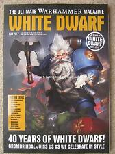 White Dwarf May 2017 Warhammer Grombrindal 40 Years John Blanche Golden Demon