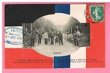 CPA - FRONTIERE FRANCO ALLEMANDE  -  DONON -  67  -  EN 1908