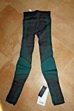 NWT Lululemon Wunder About That Base Tight pants legging NWT BLK/FORT 4 XS