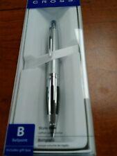 Cross Contour Satin Chrome Ballpoint Pen