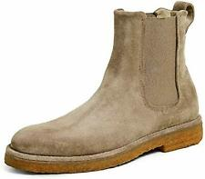 Vince Womens Cressler Suede Almond Toe Booties Ankle Boots MSRP $395