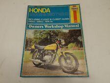 Honda 250G5 & 360 twins 1974 on manual