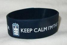 """Doctor Who, Armband, Wristband,  """"Keep calm. I´m the Doctor"""""""