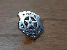 VERMONT Motor Vehicle Dept. Inspector Mini Badge Pin Lapel Hat 1919 - 2019