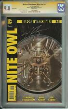 BEFORE WATCHMEN NIGHT OWL #2 SS CGC 9.8 VARIANT COVER AUTO MICHAEL STRACZYNSKI