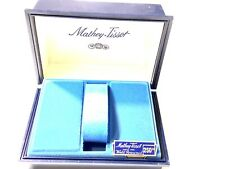 Vintage  Rare Mathey-Tissot Empty Box  Wrist Watch Blue From The Late 1970s/80s