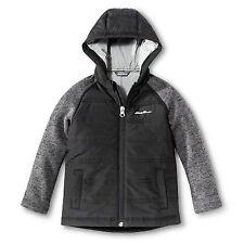 Eddie Bauer Toddler Boys Hybrid Jacket Hoodie Coat - Black - Size 2T