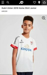 Bnwt 2019 ULSTER IRELAND Rugby Shirt Jersey Top YS Small Boys Youth Age 8