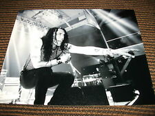 Stephen Pearcy RATT Vintage Live 8x10 B&W Photo Rock Roll Music Promo #2