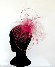 CHAPEAU Taille Unique EVA LINE femme serre tête rose France neuf pink maried hat