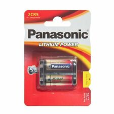 Panasonic 2CR5 6V Lithium Photo Battery, DL45, KL2CR5, 5032LC