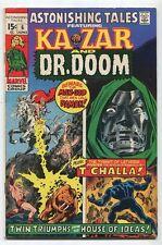 Astonishing Tales #6 FN Ka Zar And Dr. Doom 1st Bobbi Morse T'Challa   Marvel SA