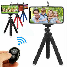 Wireless Selfie Stand Monopod Phone Desk Holder Flexible Octopus Tripod Bracket