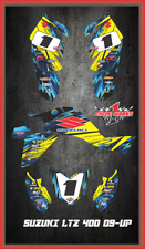 Suzuki LTZ 400 09 and newer ATV sticker kit Semi Custom Service TOONED