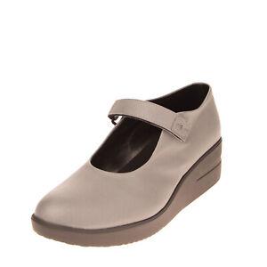 RRP €170 RUCO LINE Mary Jane Shoes EU 37 UK 4 US 7 Platform Saffiano Effect