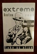 Extreme: Boston 2009 - Take Us Alive (DVD & 2 CDs, 2011) VHTF RARE OOP