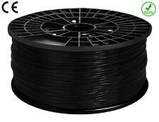FILAMENT- FIL imprimante 3D PLA 1.75mm NOIR 1Kg  CE-ROHS PLA175NOR