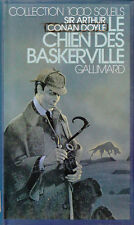 Livre le chien des Baskerville Sir Arthur Conan Doyle book