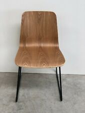 BRAND NEW CONTEMPORARY DESIGNER WOOD BLACK FRAME OFFICE HOME CHAIR (964)