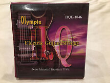 Olympia HQE-1046 Nickel Wound 10-46 Electric Guitar Strings