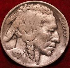 1927-D  Denver Mint Buffalo Nickel