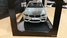 BMW M5 F10 1:18 scale Silver Model Miniature Car OEM