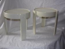 paire de petite table vintage 50's,  design 1950 1970  plastique emboitable
