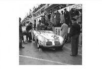 Postcard Porsche Pit Stop, Le Mans 24 Hours, France, 1958