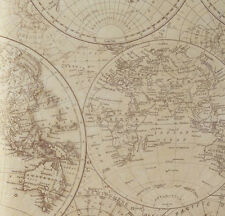 Historical World Maps / Globes Tissue Paper # 585 - 10 Lg Sheets