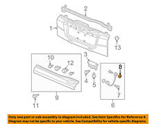 HONDA OEM Element Tail Gate Tailgate Hatch-Support Cable Washer 90504SR3003