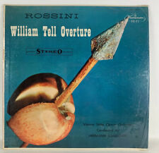 Rossini William Tell Overture Hermann Scherchen WST 14031 Lp Record Shrink