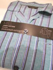 MARKS&SPENCER elegante pigiama maschile giacca e pantalone in cotone Mis. L
