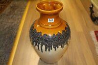 Große bauchige Vase BAY Keramik 6640 original vintage 1970er 70s FAT LAVA German