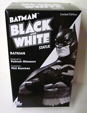 Batman DC Comics Black White Pat Gleason Mini Statue New From 2011
