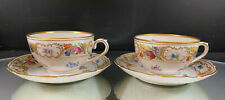 Schumann Bavaria--Empress--2 Cup & Saucer Sets--(6) Sets of Two Available--BIN!