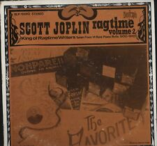 SCOTT JOPLIN-Ragtime 14 rare piano rolls biograph LP Vinyle HL2.359